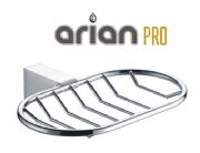 Arian Pro Soap Basket Dish Chrome